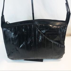 Handbags - Genuine eel skin handbag